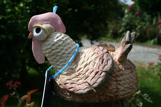 poules poterie